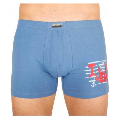 Pánske boxerky Andrie modré (PS 5294 B)