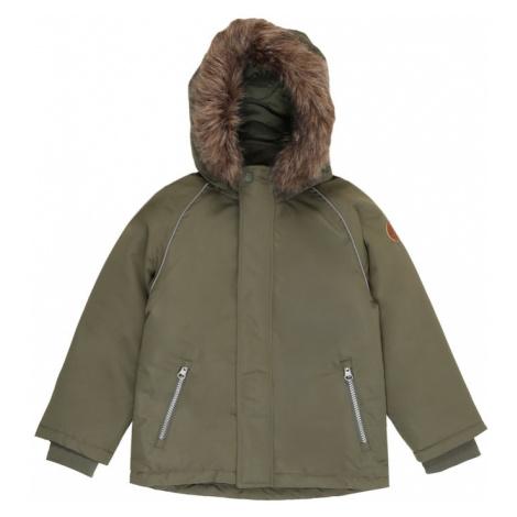 NAME IT Zimná bunda  olivová
