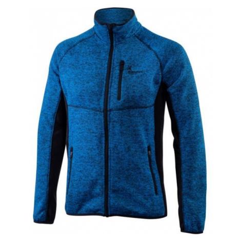 Klimatex KADRAT modrá - Pánsky outdoorový sveter