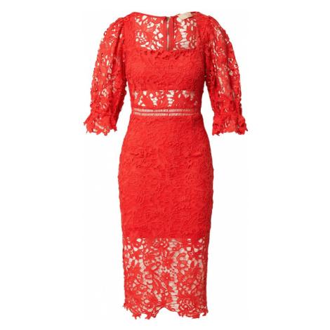 Love Triangle Šaty 'ALLEGRA'  svetločervená