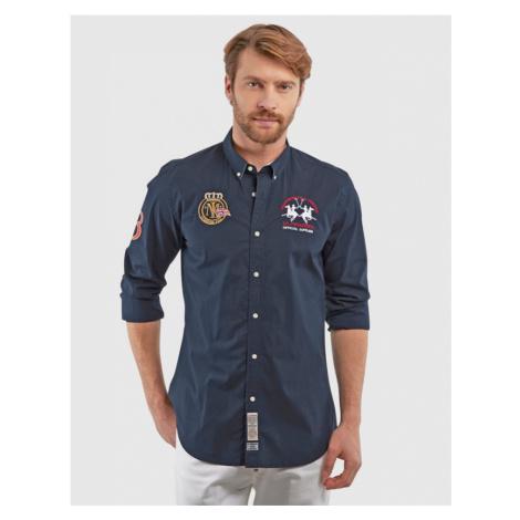 Košeľa La Martina Man L/S Shirt Poplin