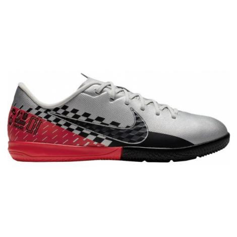 Nike JR MERCURIAL VAPOR 13 ACADEMY NEYMAR JR IC šedá - Detská halová obuv