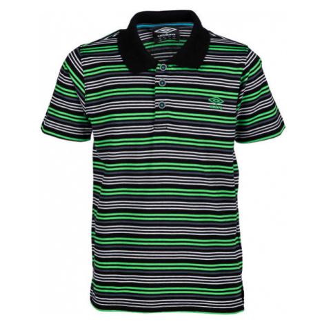 Umbro PERRY zelená - Detské polo tričko