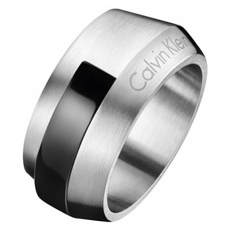 Calvin Klein Oceľový pánsky prsteň Bump KJ4MBR2101 mm