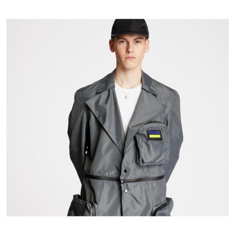 """FTSHP + LAFORMELA """"No Season"""" Zip Pockets Long Coat Grey"""