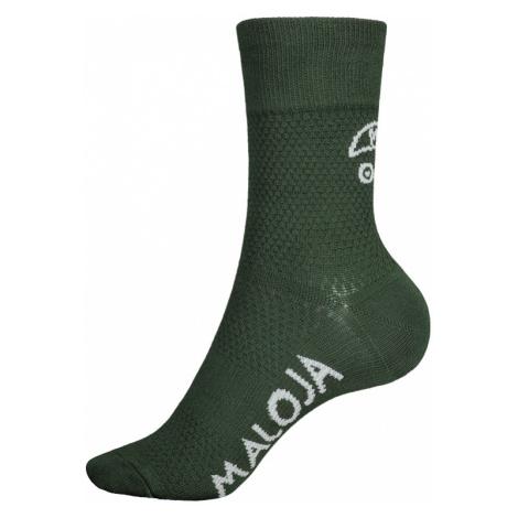 Ponožky Maloja VandasM. zelené