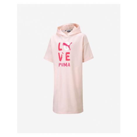 Puma Alpha Šaty dětské Béžová