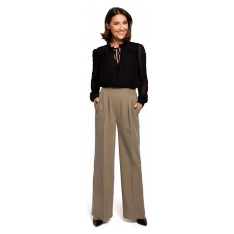 Stylove Woman's Trousers S203 Khaki