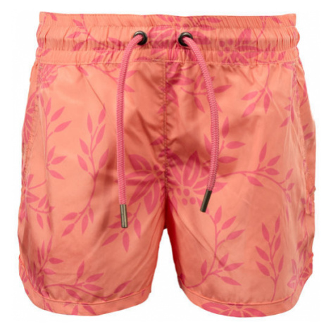ALPINE PRO TAKODO oranžová - Dievčenské šortky