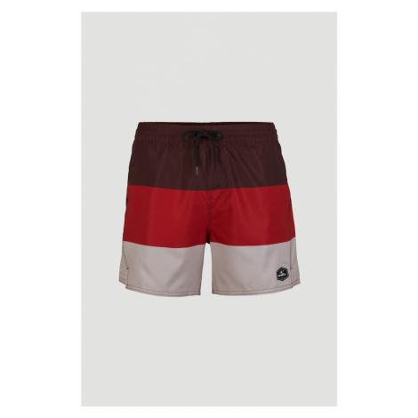 O'NEILL Surferské šortky 'Horizon'  červená / burgundská / šedobiela