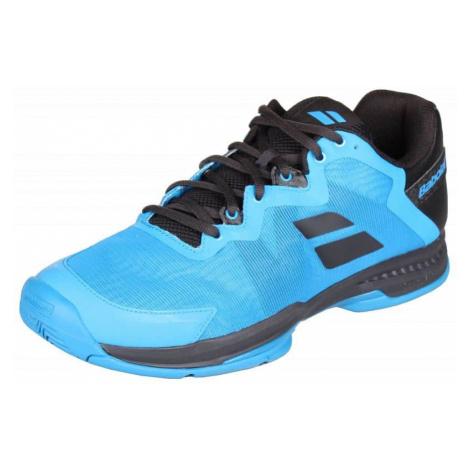SFX3 All Court 2019 tenisová obuv barva: modrá;velikost (obuv / ponožky): UK 10,5 Babolat