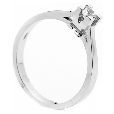 Zlatý zásnubný prsteň CLYTIA