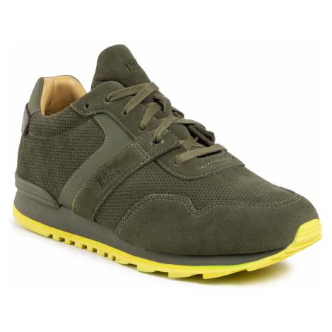 Sneakersy BOSS - Parkour 50428495 10225825 01 Dark Green 307 Hugo Boss