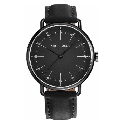 Pánske analógové hodinky Marksmen čierne