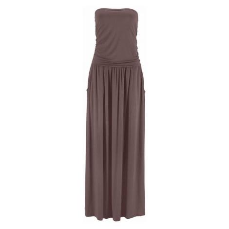 LASCANA Šaty  hnedá
