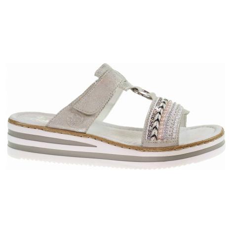 Dámské pantofle Rieker V02M6-40 grau V02M6-40