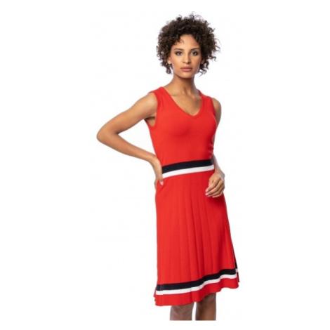 Heavy Tools Dámske šaty Haviera red O3S21492RE