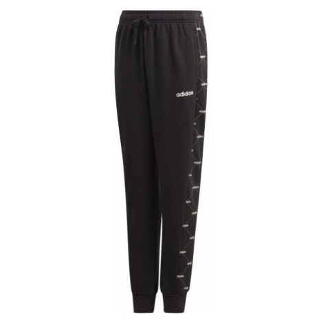 adidas YB CF PANT čierna - Chlapčenské tepláky