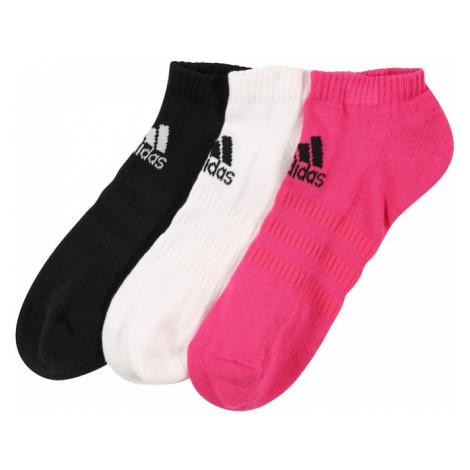 ADIDAS PERFORMANCE Športové ponožky 'CUSH'  čierna / ružová / biela