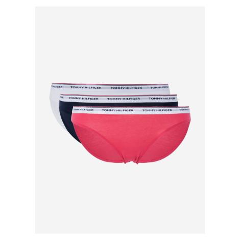 Kalhotky 3 ks Tommy Hilfiger Růžová