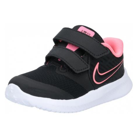 NIKE Športová obuv 'Star Runner'  čierna / ružová