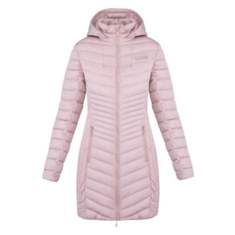 Loap JESMIN svetlo ružová - Dámsky zimný kabát