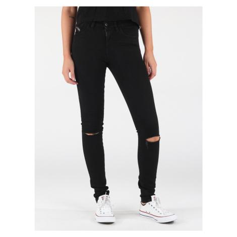 Džínsy Diesel Skinzee L.32 Pantaloni Čierna