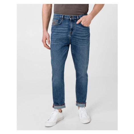 Trussardi Jeans Baggy Jeans Modrá