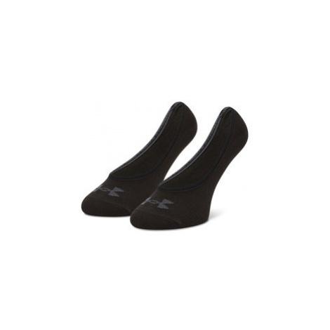 Under Armour Súprava 3 párov krátkych ponožiek unisex Essential Lolo Liner 1361148-001 Čierna