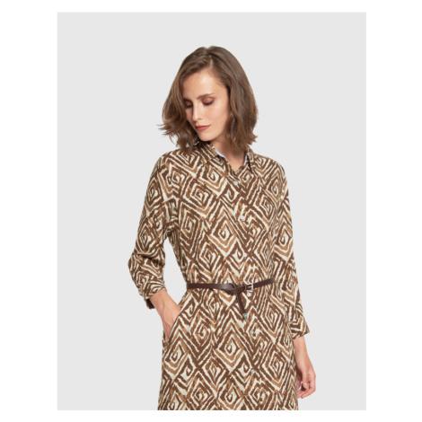 Šaty La Martina Woman Dress L/S Twill
