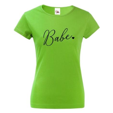 Dámske tričko na rozlúčku pre Tím nevesty - Babe
