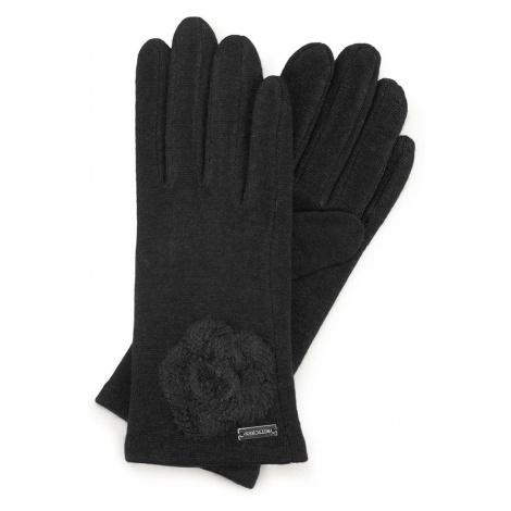 Čierne dámske rukavice Wittchen