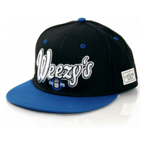 Cayler & Sons Weezy`s Cup Cap Black True Blue White - Veľkosť:UNI