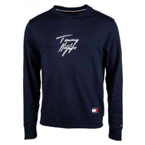 Tommy Hilfiger TRACK TOP LWK tmavo modrá - Pánska mikina