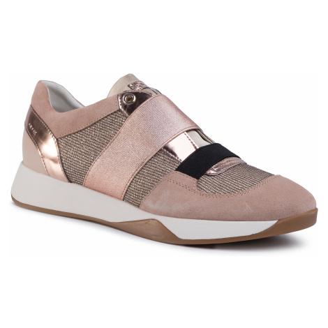 Sneakersy GEOX - D Suzzie D D94FRD 0AS22 C8191 Dk Skin