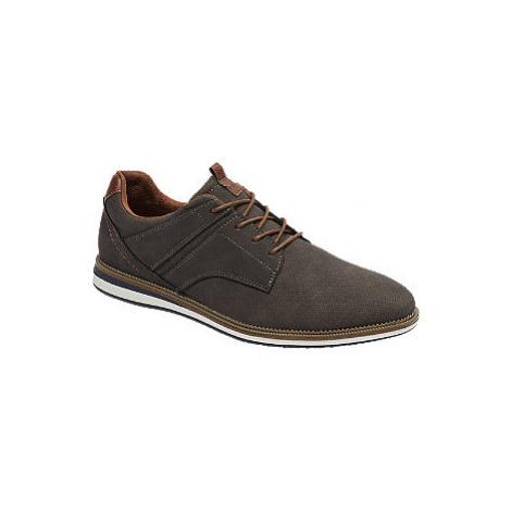 Tmavosivá spoločenská obuv SPROX