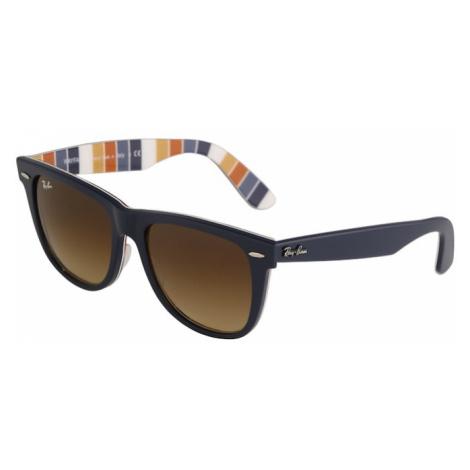 Ray-Ban Slnečné okuliare 'Wayfarer'  oranžová / námornícka modrá / zmiešané farby