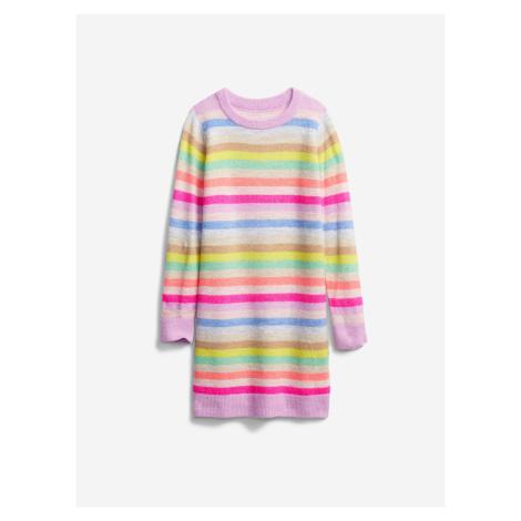 Šaty dětské GAP Farebná