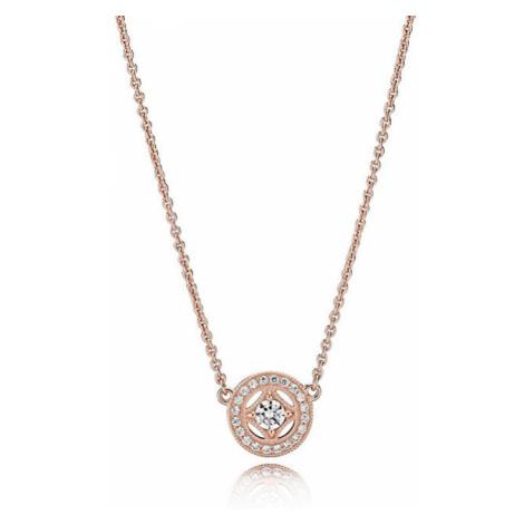 Pandora Luxusné bronzový náhrdelník 380523CZ-45