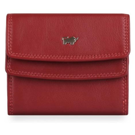 Braun Büffel Dámska kožená peňaženka Golf 2.0 90115-051 - červená
