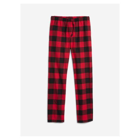 Kalhoty na spaní GAP Červená