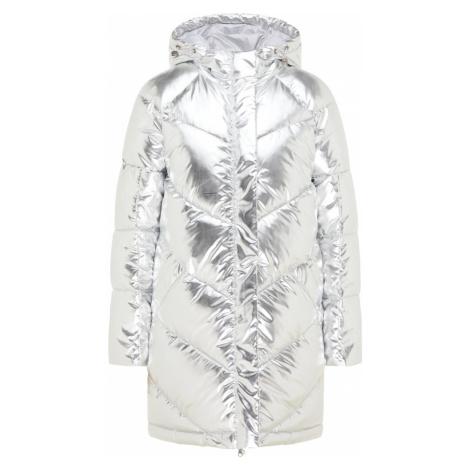 MYMO Zimný kabát  strieborná