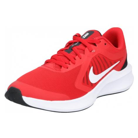 NIKE Športová obuv 'Downshifter 10'  biela / čierna / červená