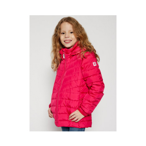Reima Vatovaná bunda 531476 Ružová Slim Fit
