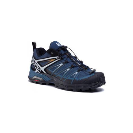 Salomon Trekingová obuv X Ultra 3 411399 27 M0 Modrá