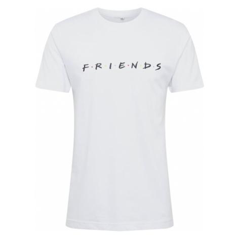 Mister Tee Tričko 'Friends Logo EMB Tee'  čierna / biela