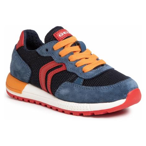 Sneakersy GEOX - J Alben B.D J949ED 01422 C4327 M Avio/Red
