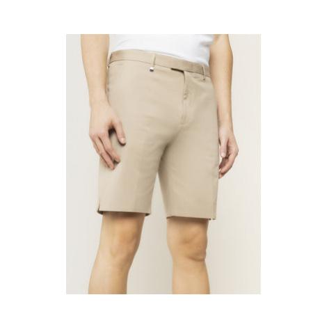 Hugo Bavlnené šortky Ferris202F1 50428075 Béžová Slim Fit Hugo Boss