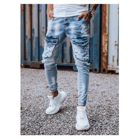 Men's blue cargo pants Dstreet UX3264