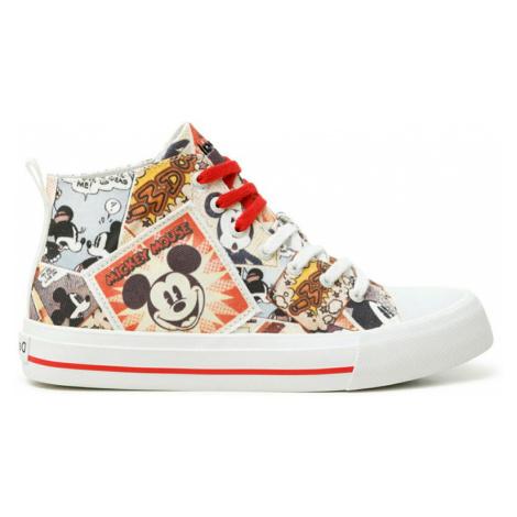 Desigual členkové tenisky Shoes Beta Mickey